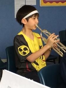 David on Trumpet